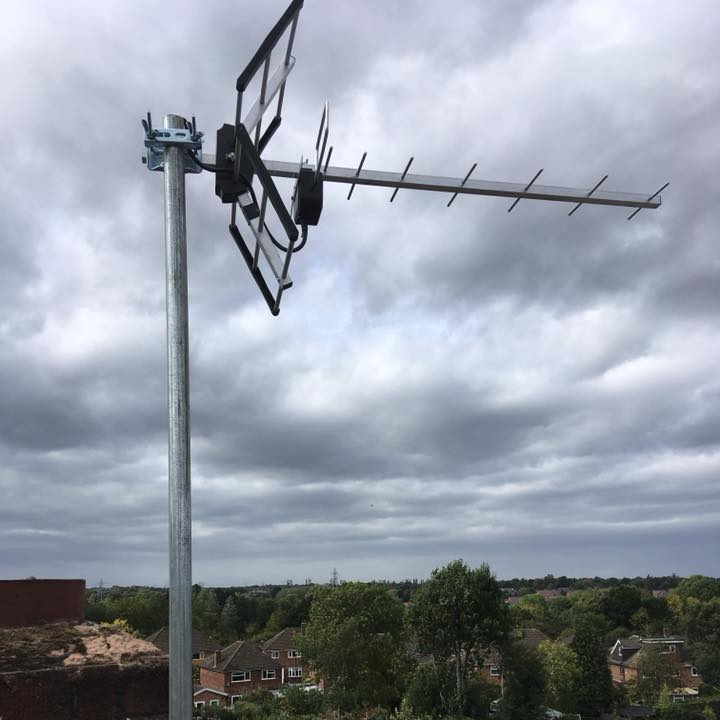 Approved Aerial Installation  South Birmingham